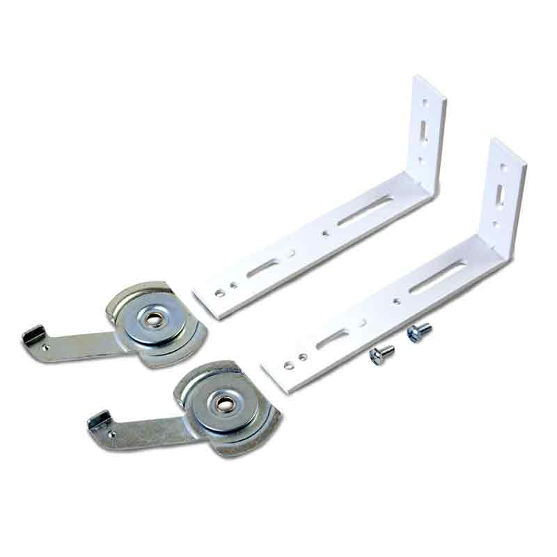 4. Top and face fix brackets supplied
